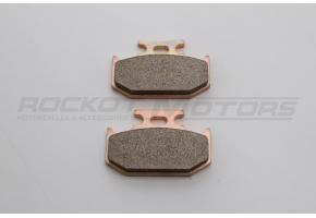 Колодки тормозные диск Kawasaki KLX250, Honda XR250 93- (задн)