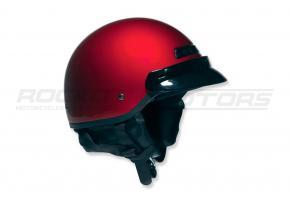 Шлем открытый со стеклом NT-200 Solid XXL (красный матовый)