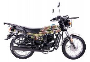 Мотоцикл RACER TOURIST-150 ПТС (черно-зеленый)