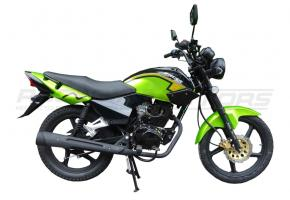 Мотоцикл RACER TIGER-150+ПТС (зеленый)