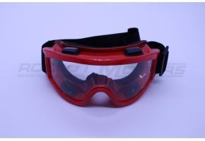 Очки кроссовые PRO-BIKER (красные)