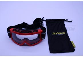 Очки кроссовые STELS YH-33 (Красный)