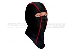 Подшлемник размер 56-58 (черный, красный кант)