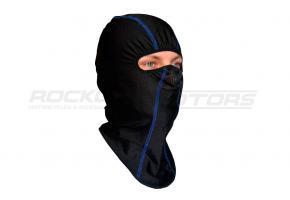 Подшлемник размер 56-58 (черный, синий кант)