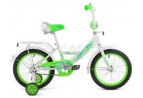 Велосипед MAVERICK Faster_16 P, 8 Steel 1-ск., Серебристый