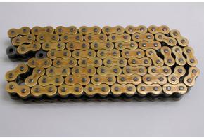 Цепь 530 DID VX-112 Gold & Black (112 звеньев)