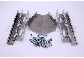 Накладки опор для ног с увеличенным зацепом, алюминий ATV 650-850 GUEPARD