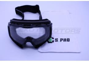 Очки кроссовые STELS YH-70-01 (черный)
