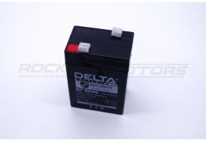 Аккумулятор   4.5 Ah/6V DELTA DT 6045 (для детских эл. авто)