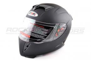 Шлем интеграл Ataki FF311 Solid M (черный матовый)