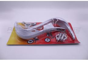 Защита рук TTR/KAYO (белая, метал-пластик)