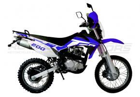 Мотоцикл RACER ENDURO-200 ПТС (синий)