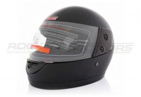 Шлем интеграл BLD 825-A (ABS, черный матовый)