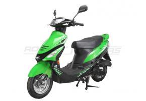 Скутер RACER METEOR-50cc (зелёный) (Россия)