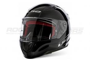Шлем интеграл LS2 FF353 RAPID SOLID S (чёрн. глянцевый)