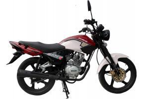 Мотоцикл RACER TIGER-150+ПТС (бордовый)