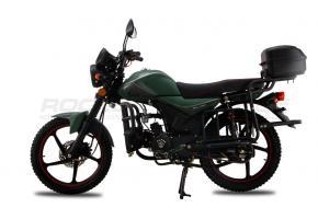 Мопед ALPHA TOURIST M-12 (зеленый матовый)