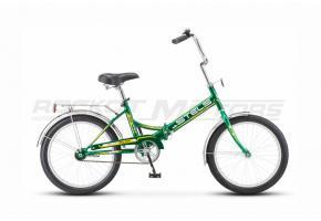 Велосипед Stels Pilot-410 20'' зелёный/жёлтый