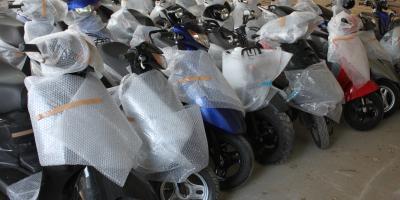 Поступление в продажу японских скутеров (с пробегом)!
